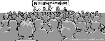 Betriebsversammlung