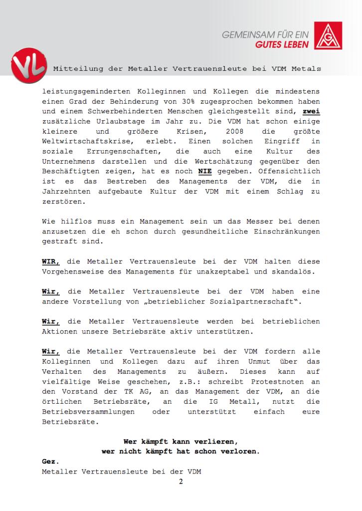 2014.10.06 Mitteilung VL Seite 2