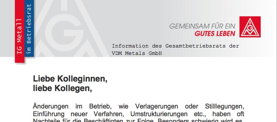 Information GBR