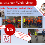 Warnstreik Altena
