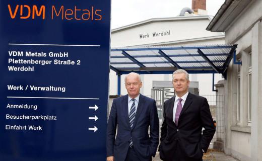 VDM Metals steht vor nächsten Verkauf